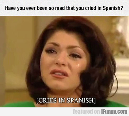 Have You Ever Been So Mad That You Cried...