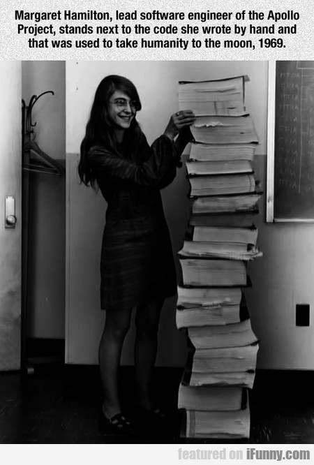 Margaret Hamilton's Code Sent Humanity To The Moon