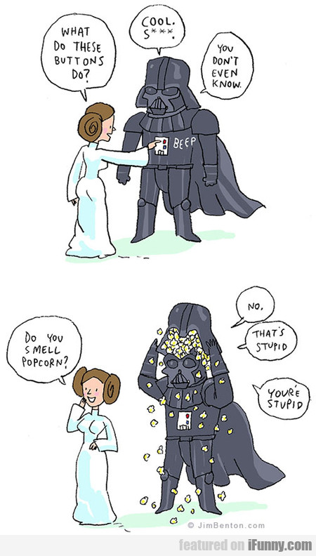 Darth Vader's Buttons