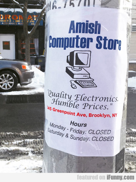 Amish Pc Store