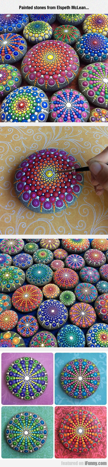 Painted Stones From Elspeth Mclean...