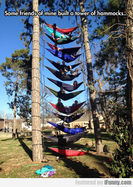 Relaxation Hammock Tower