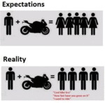 Motorcycle: Expectations Vs. Reality