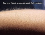 You Ever Heard A Song So Good That You Just...