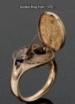 Sundial Ring From 1570