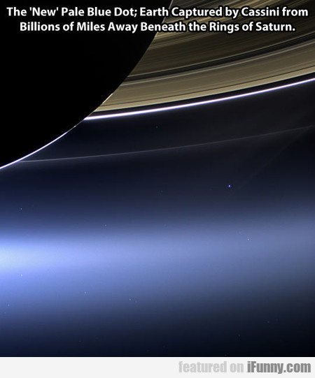 The New Pale Blue Dot