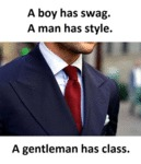 A Boy Has Swag