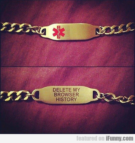 In Case Something Happens To Me
