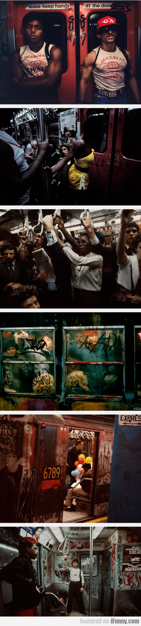 The New York City Subway In The 80s