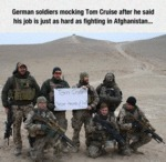 German Soldiers Mocking Tom Cruise