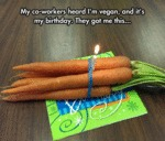 Vegan's Birthday