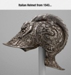 Italian Helmet From 1543...