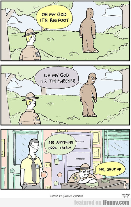 It's Big Foot