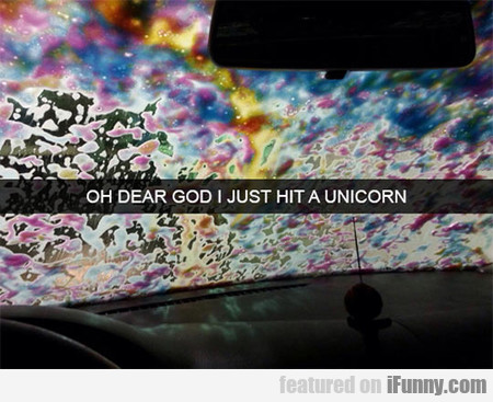 Oh Dear God I Just Hit A Unicorn