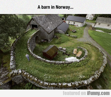 A Barn In Norway...
