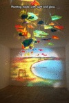 Painting Made From Light And Glass