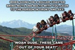 Roller Coaster Prank Idea