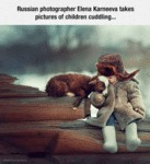 Perfect Picture Of Child Cuddling...