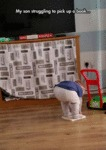 This Kid Is Not Going Places