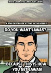 Archer Makes A Good Point