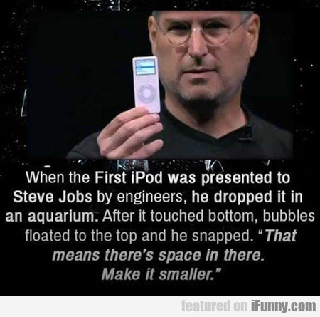 How Steve Jobs Pushed Things At Apple