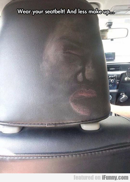 This Would Make A Perfect Seatbelt Safety Ad