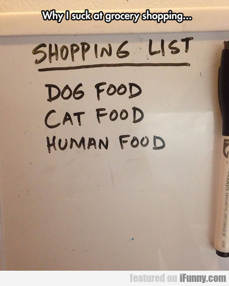 Grocery Shopping List