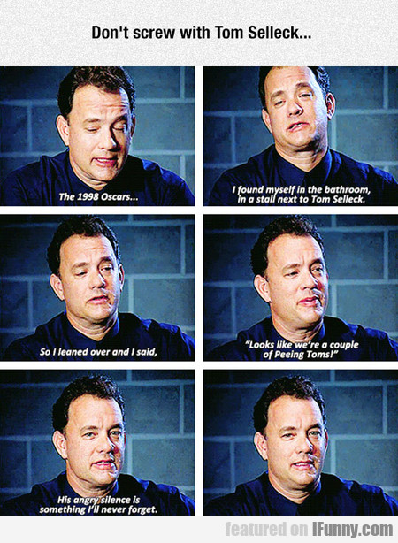 Tom Hanks Confessing His Deepest Secret