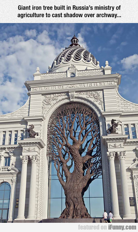 Magnificent Iron Tree
