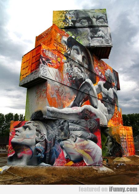 Greek Gods On Containers