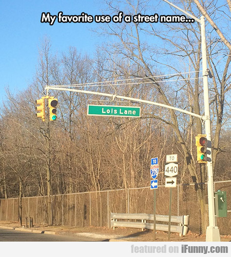 Favorite Street Name