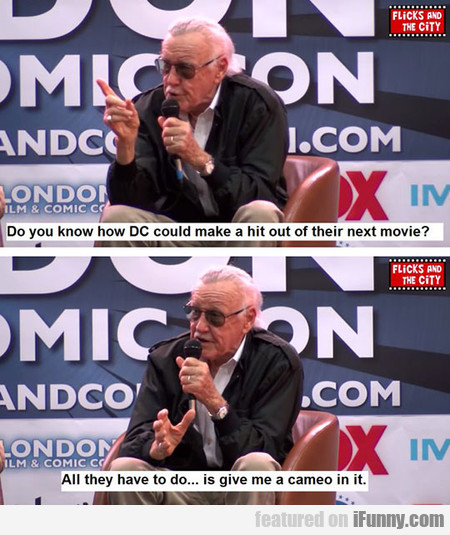 Stan Lee Is Awesome