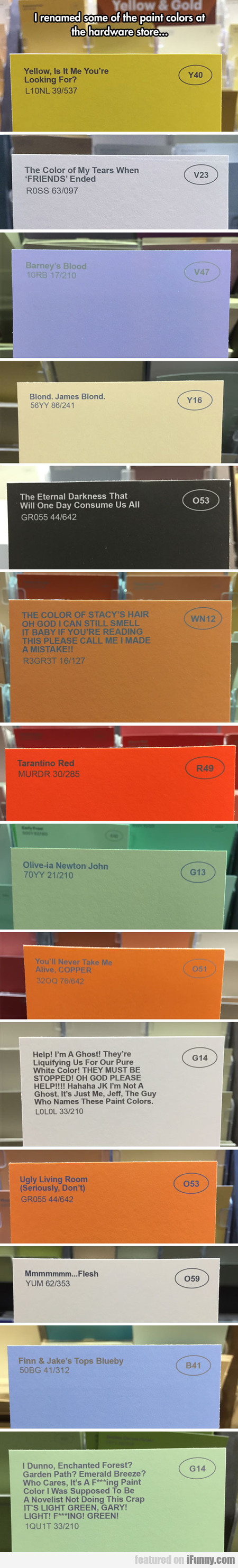 The Greatest Color Names In The World