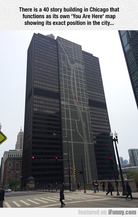 Clever Chicago Building