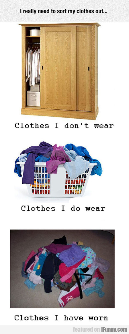The Way I Organize My Clothes
