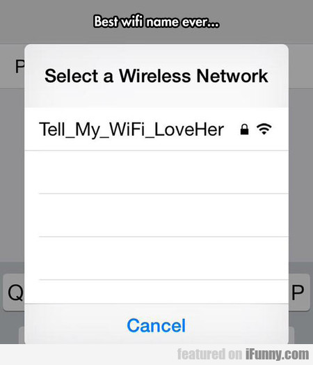 Clever Wifi Name