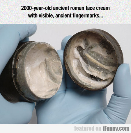2000-year-old Ancient Roman Face Cream