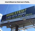 Actual Billboard My Friend Saw In Florida...