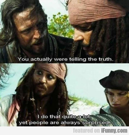 Whenever I Tell The Truth