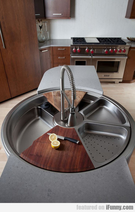 Beautiful Rotating Sink