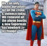 Cellphones Are Ruining Superman