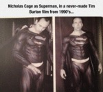 Nicholas Cage As Superman
