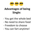 Advantages Of Being Single