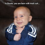 A Typical Russian Baby