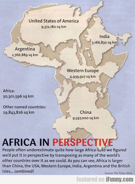 Africa Is Gigantic