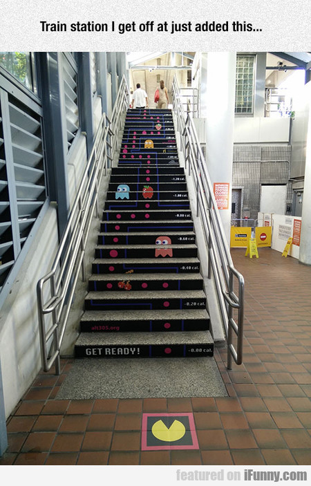 Great Way To Encourage Kids To Use The Stairs