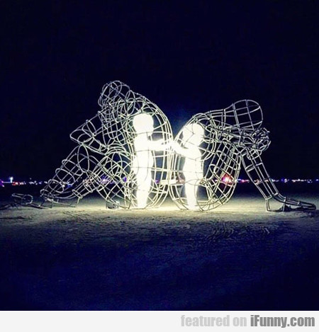 Artwork From Burning Man, Pretty Powerful
