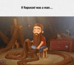 If Rapunzel Was A Man