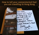 Overprotecting Dad