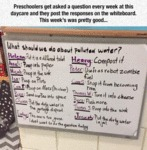 Preschoolers Get Asked A Question Every Week